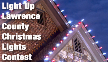 Light up Lawrence County Christmas Lights Contest